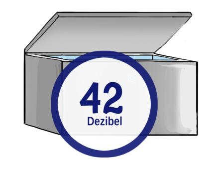 gefriertruhe 42 dezibel